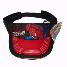 Viziera - sun visor (cozoroc) - Spiderman - Negru