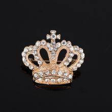 Brosa coroana aurie Royal Crown