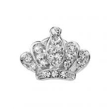 Brosa coroana regala Landwick Argintiu