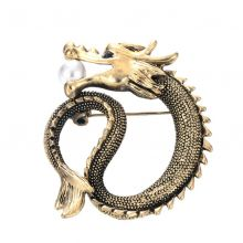 Brosa dragon Legend Gold