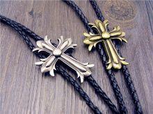 Cravata americana Bolo cruce Croix