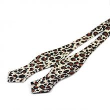 Papion self-tie Leopard