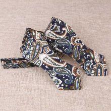 Papion self-tie paisley multicolor Brown Chic