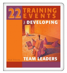 22 Training Events for Developing Team Leaders - Digital Version