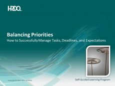 DEMO GRATUIT: Balancing Priorities E-Learning