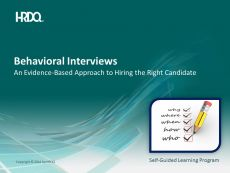 Behavioral Interviews E-Learning