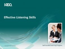 Effective listening skills E-Learning