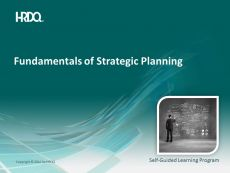 DEMO GRATUIT: Fundamentals of strategic planning E-Learning
