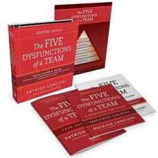 Five Dysfunctions of a Team 2nd Edition- Facilitator Set - engleza & romana