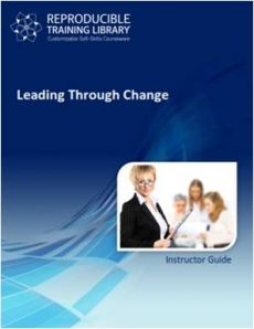 Leading others trough change  (engleza & traducere in romana)
