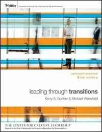 Leading Through Transitions - Large poster (17 x 22)