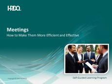 DEMO GRATUIT: Meetings E-Learning