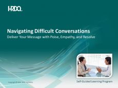 DEMO GRATUIT: Navigating Difficult conversations E-Learning