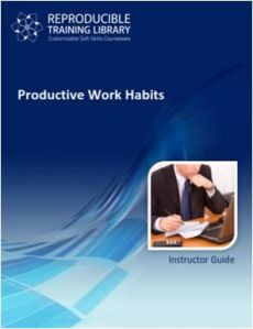 Productive work habits  (engleza & traducere in romana)