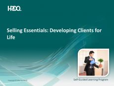 (cu traducere) SELLING ESSENTIALS: Developing clients for life E-Learning