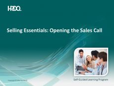 DEMO GRATUIT: SELLING ESSENTIALS: Opening the Sales Call E-Learning