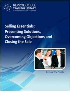 SELLING ESSENTIALS: Presenting solutions