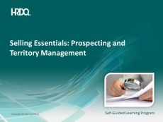 DEMO GRATUIT: SELLING ESSENTIALS: Prospecting and territory management E-Learning