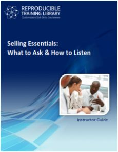 SELLING ESSENTIALS: What to ask and how to listen