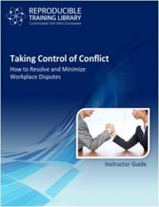 Taking control of conflict  (engleza & traducere in romana)