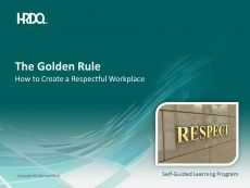 DEMO GRATUIT: The Golden Rule E-Learning
