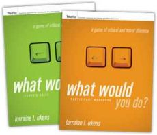 What Would You Do?: A Game of Ethical And Moral Dilemma - Facilitator Set - in limba engleza & romana