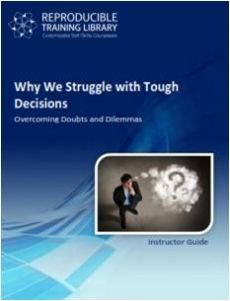 DEMO GRATUIT: Why we struggle with tough decisions