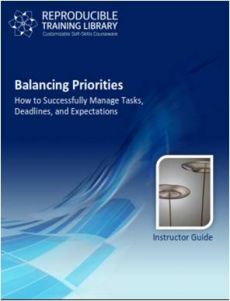 DEMO GRATUIT: Balancing Priorities - Extras de curs Demo
