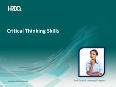 DEMO GRATUIT: Critical Thinking Skills E-Learning