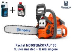 Motoferastrau (Drujba) Husqvarna 135 Pachet START