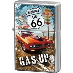 Bricheta metalica Route 66 - Gas Up