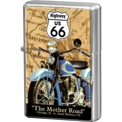 Bricheta metalica Route 66 Map