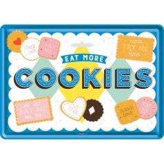 Carte postala metalica Cookies
