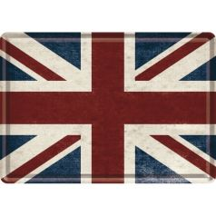 Carte postala metalica Marea Britanie
