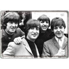 Carte postala metalica The Beatles-Photo
