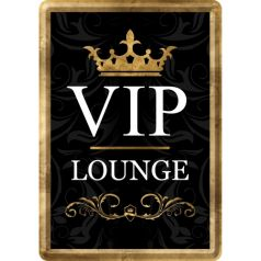 Carte postala metalica VIP Lounge