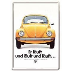 Carte postala metalica VW Lauft