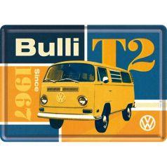 Carte postala metalica VW T2 Bulli