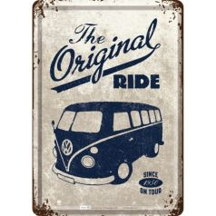Carte postala metalica VW The original Ride1950