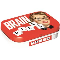 Cutie metalica de buzunar Brain Pills