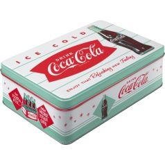 Cutie metalica plata Coca-Cola - Diner