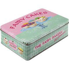 Cutie metalica plata Fairy Cakes