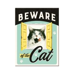 Magnet Beware of the Cat