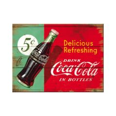 Magnet Coca-Cola Refreshing Green
