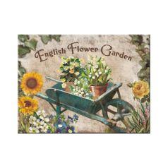 Magnet English Flower Garden - Yellow