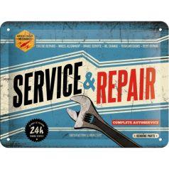 Placa metalica 15X20 Service & Repair