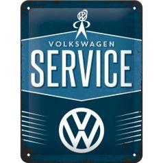 Placa metalica 15x20 VW-Service
