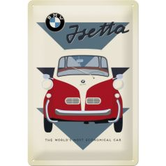Placa metalica 20x30 BMW - Jseta