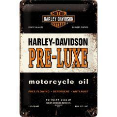 Placa metalica 20X30 Harley-Davidson Pre-Luxe
