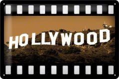 Placa metalica 20X30 Hollywood